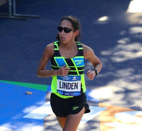 8138375245b Desiree Linden Finishes Sixth at the 2018 NYC Marathon