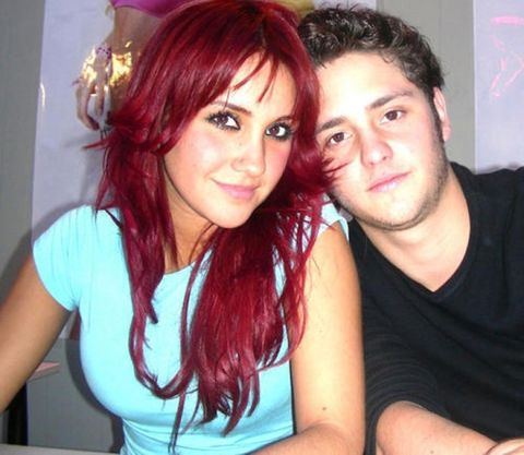 Hair, Red hair, Eyebrow, Hair coloring, Hairstyle, Friendship, Forehead, Fun, Black hair, Cool,