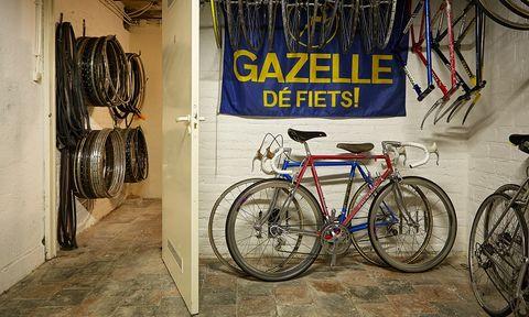 fietsschuurtje, schuur,