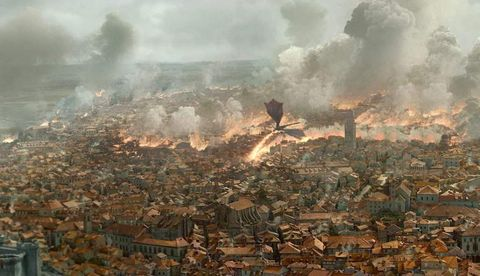 Resultado de imagen de destruccion desembarco del rey
