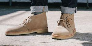 Suède schoenen verzorgen desert boots