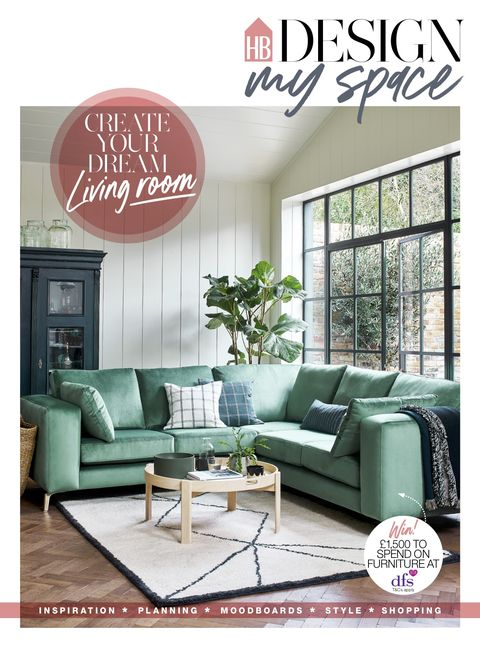design my space, house beautiful september 2021 supplement