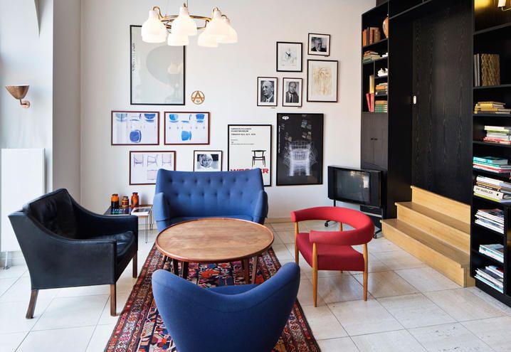 Omaggio al design nordico in un hotel a Copenaghen