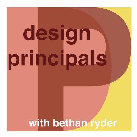 design principals with bethan ryder podcast logo