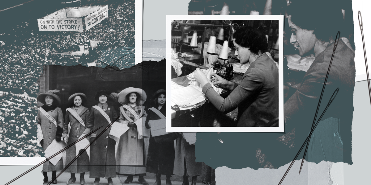 www.harpersbazaar.com: A Century Later, Garment Workers Still Face the Unfair Labor Conditions That Sparked International Women's Day