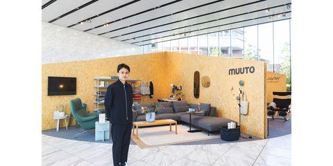 Interior design, Room, Floor, Furniture, Wall, Couch, Ceiling, Suit, Living room, Interior design,