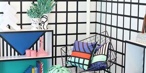 Memphis Style. Designer Camille Walala