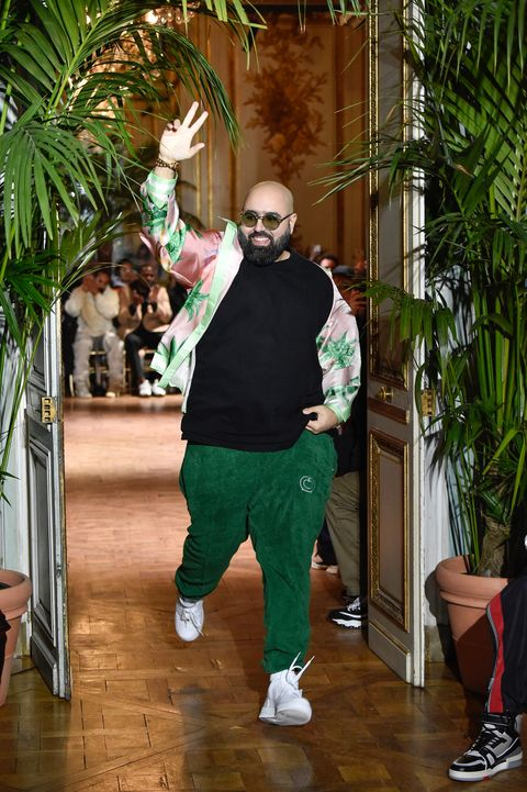 casablanca runway paris fashion week man fall 20192020