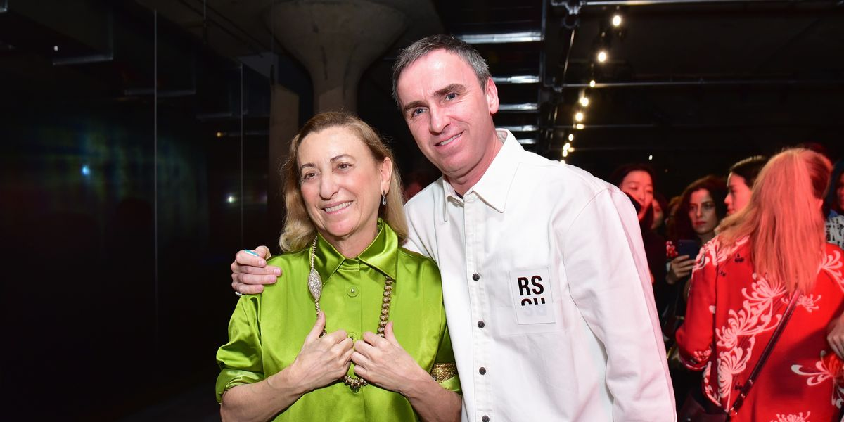 Why the Fashion Marriage of Raf Simons and Miuccia Prada Is Groundbreaking