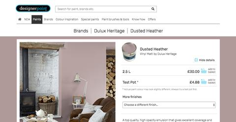 Designer Paint website