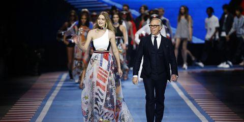 tommy hilfiger, tommy hilfiger x gigi, tommy hilfiger x zendaya, tommy hilfiger paris fashion week, tommy hilfiger 2019, paris fashion week, paris fashion week 2019