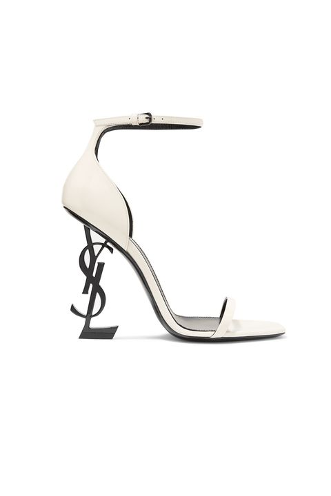 designer shoes on sale - SAINT LAURENT Opyum patent-leather sandals