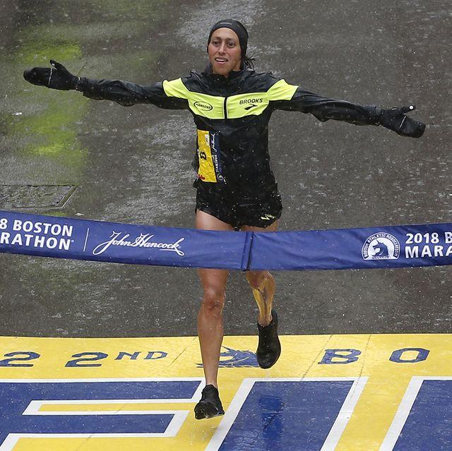 des linden boston marathon