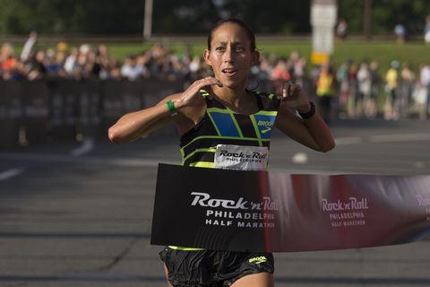 Rock 'n' Roll Philadelphia Half Marathon - Desiree Linden