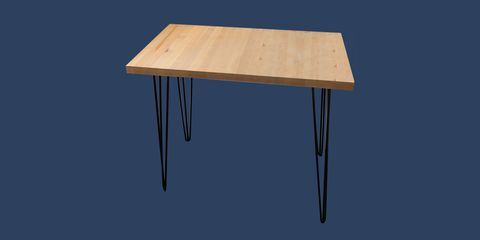Furniture, Table, Outdoor table, Desk, Plywood, Wood, Rectangle, Material property, Wood stain, Square,