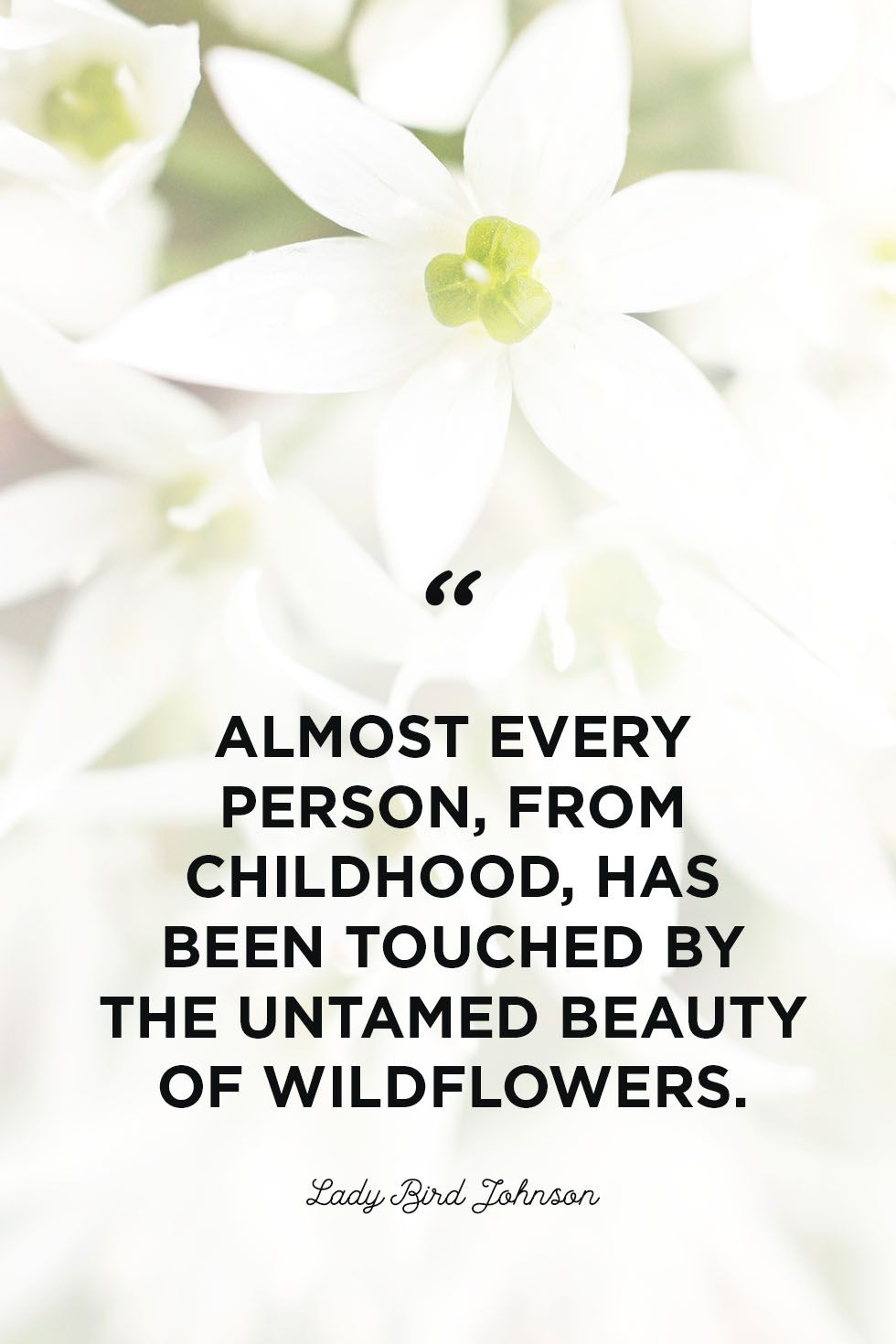 flower quotes childhood