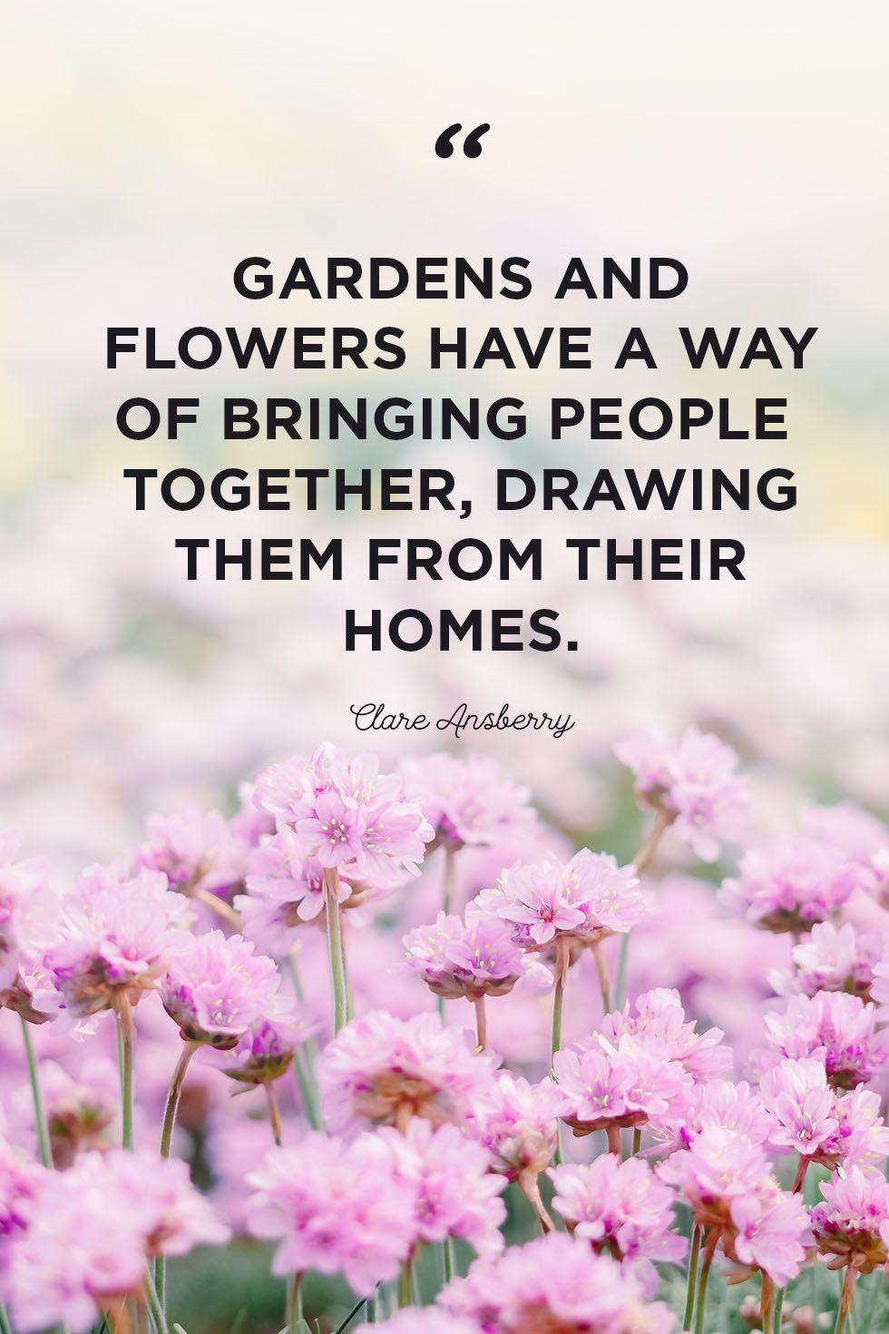 flower quotes gardens