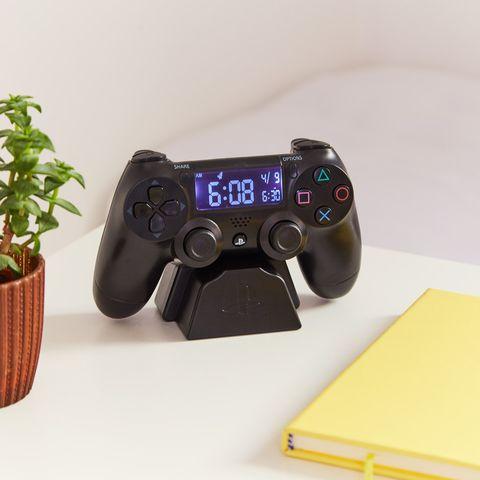 Despertador con forma de mando de la PlayStation