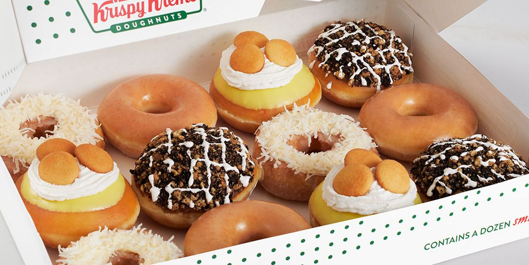Krispy Kreme Introduced 3 New Donut Flavors Including One Stuffed With Banana Pudding