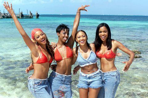 People on beach, Fun, Vacation, Bikini, Spring break, Friendship, Summer, Beach, Leisure, Swimwear,