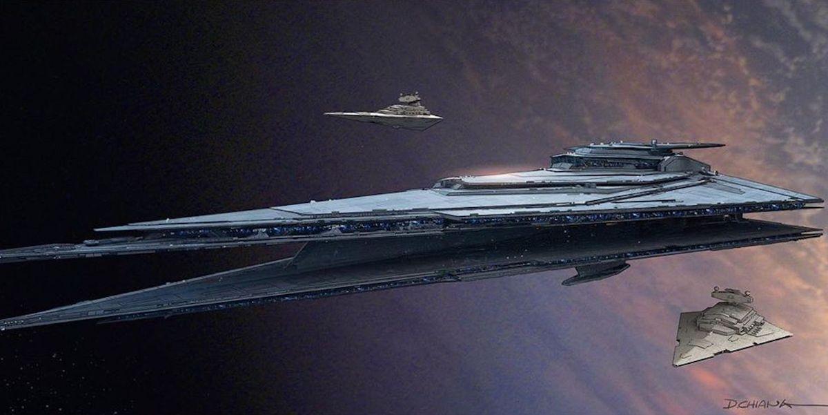 Diseños descartados de nuevos Destructores Estelares para 'Star Wars: El ascenso de Skywalker'