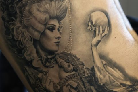 tattoo artists gather for the international london tattoo convention