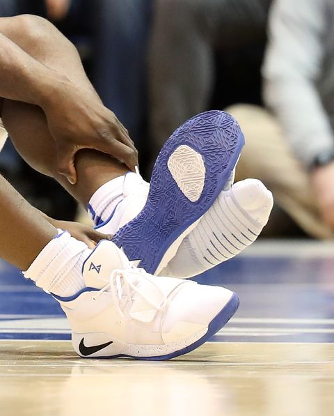 03f64c7f2900d7 Nike Blamed After Zion Williamson s Shoe Explodes