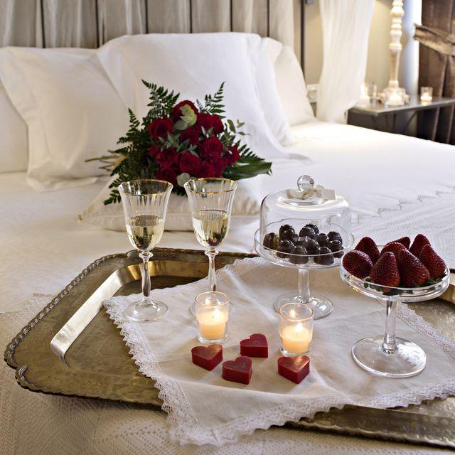 regalos san valentin bombones chocolate cava fresas