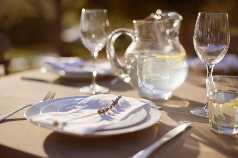 Champagne stemware, Stemware, Restaurant, Tableware, Wine glass, Dishware, Rehearsal dinner, Table, Glass, Drinkware,