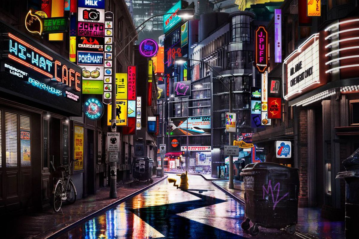 detective pikachu rime city locandina del film