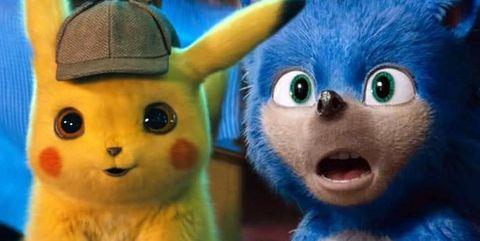detective pikachu sonic comparacion