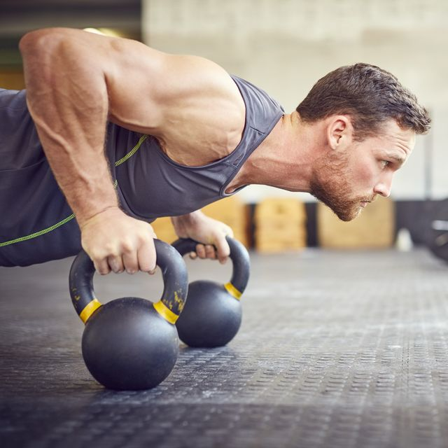 kettlebell back and abs workout