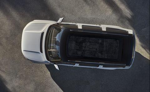 jeep grand wagoneer glass roof