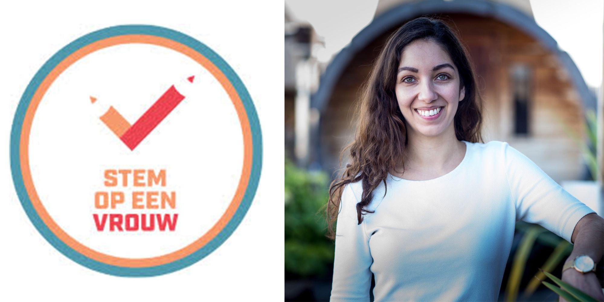 Stem op een Vrouw - Devika Partiman richtte Stem Op Een Vrouw op om meer vrouwen de politiek in te krijgen