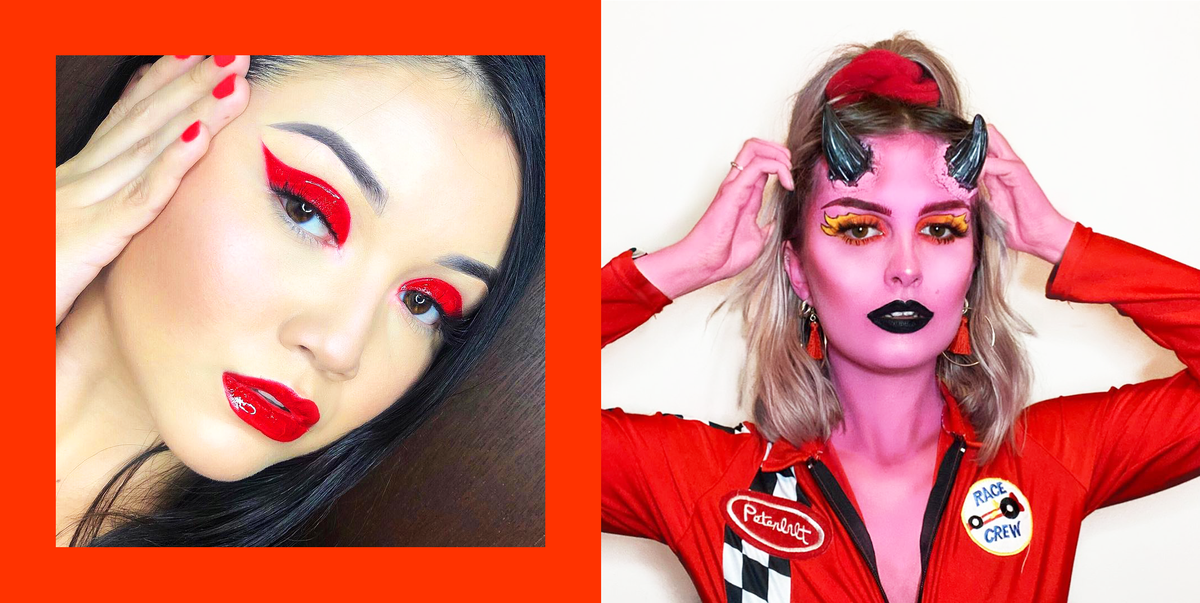 23 Devil Makeup Ideas For 2020 Easy Demon Halloween Costumes