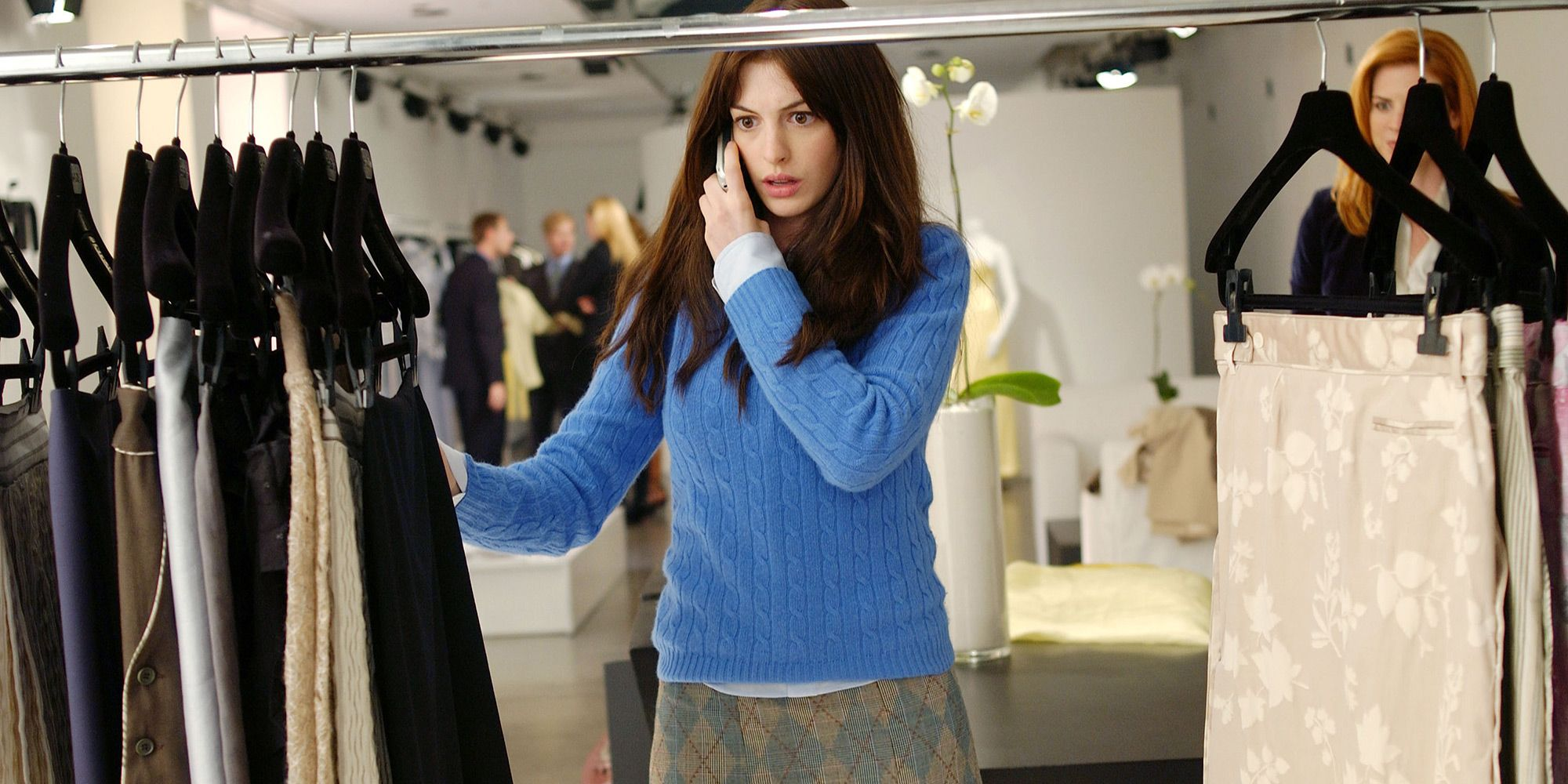 Devil Wears Prada, work, office, Anne Hathaway