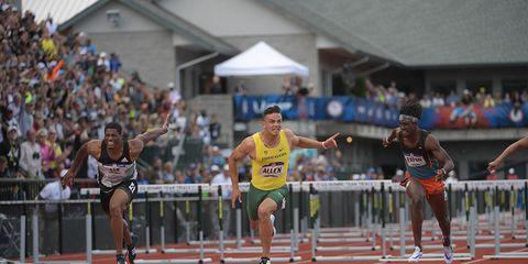 Men's 110-meter hurdles 2016 Olympic Trials