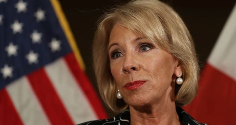 How Betsy Devos Faceplanted On 60 Minutes