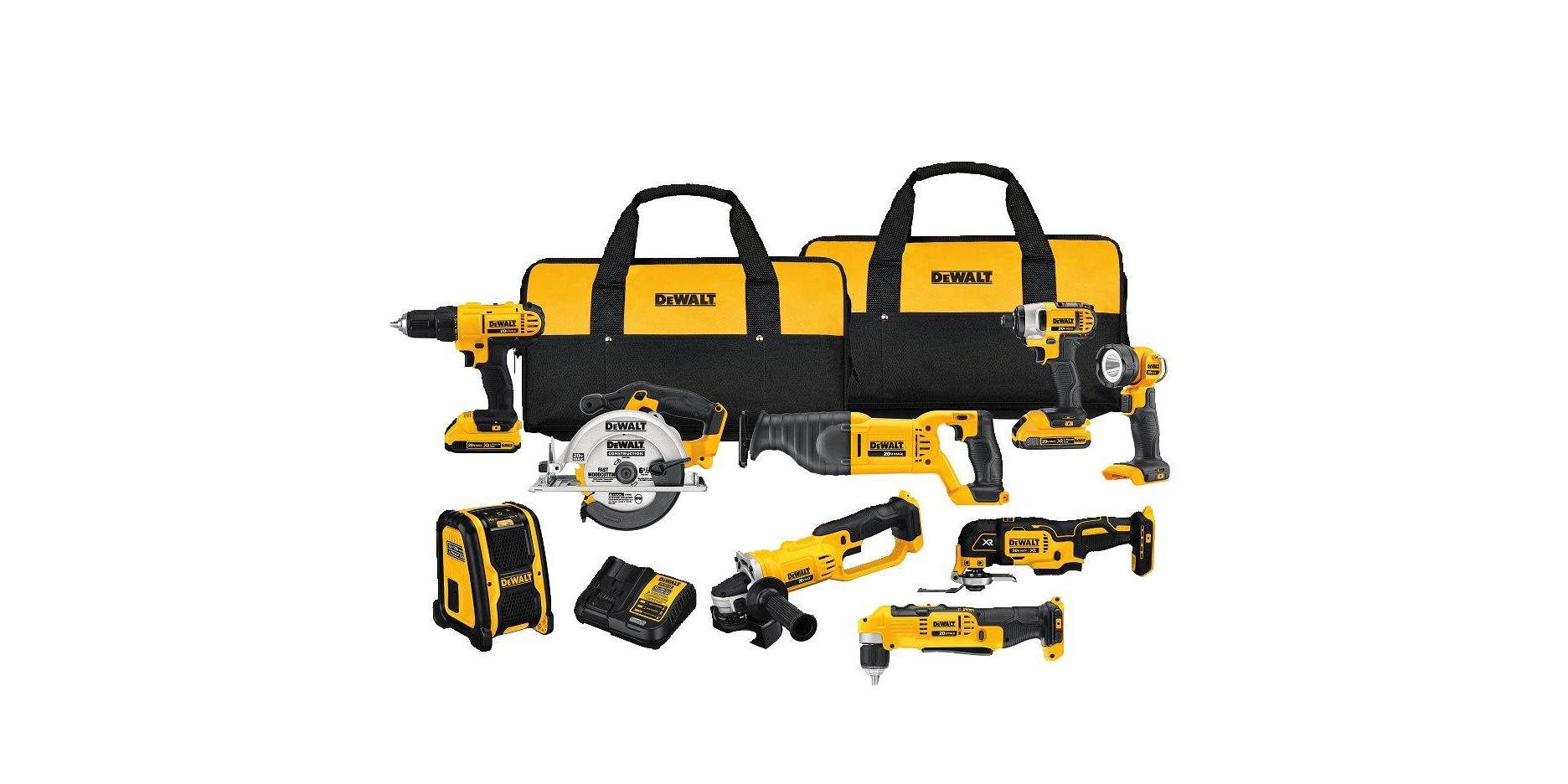 Save Hundreds on DeWalt Tools at Amazon Today Only
