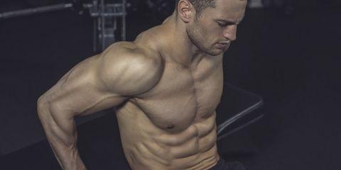 Barechested, Bodybuilder, Muscle, Bodybuilding, Shoulder, Chest, Abdomen, Arm, Chin, Standing,