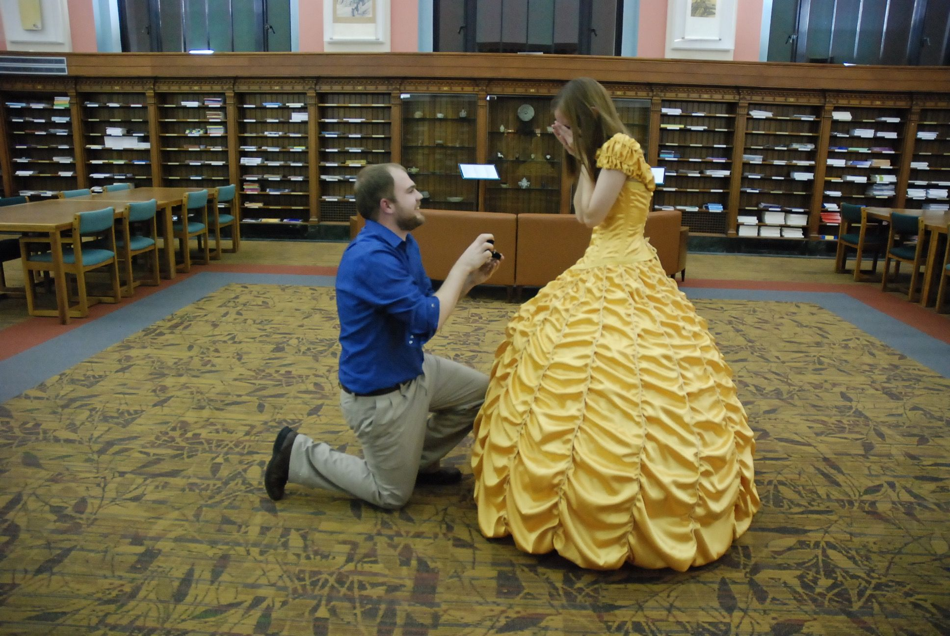This Beauty and the Beast Proposal Will Melt Your Ice-Cold Heart