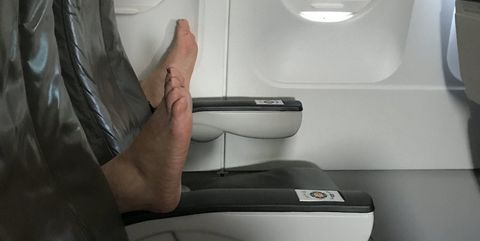 Airline, Comfort, Airplane, Air travel, Room, Aircraft cabin, Toilet, Vehicle, Aircraft, Interior design,