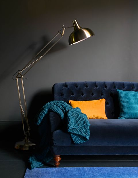 Bailey Sofa Velvet Maxi By Work In Royal Blue At Dfs