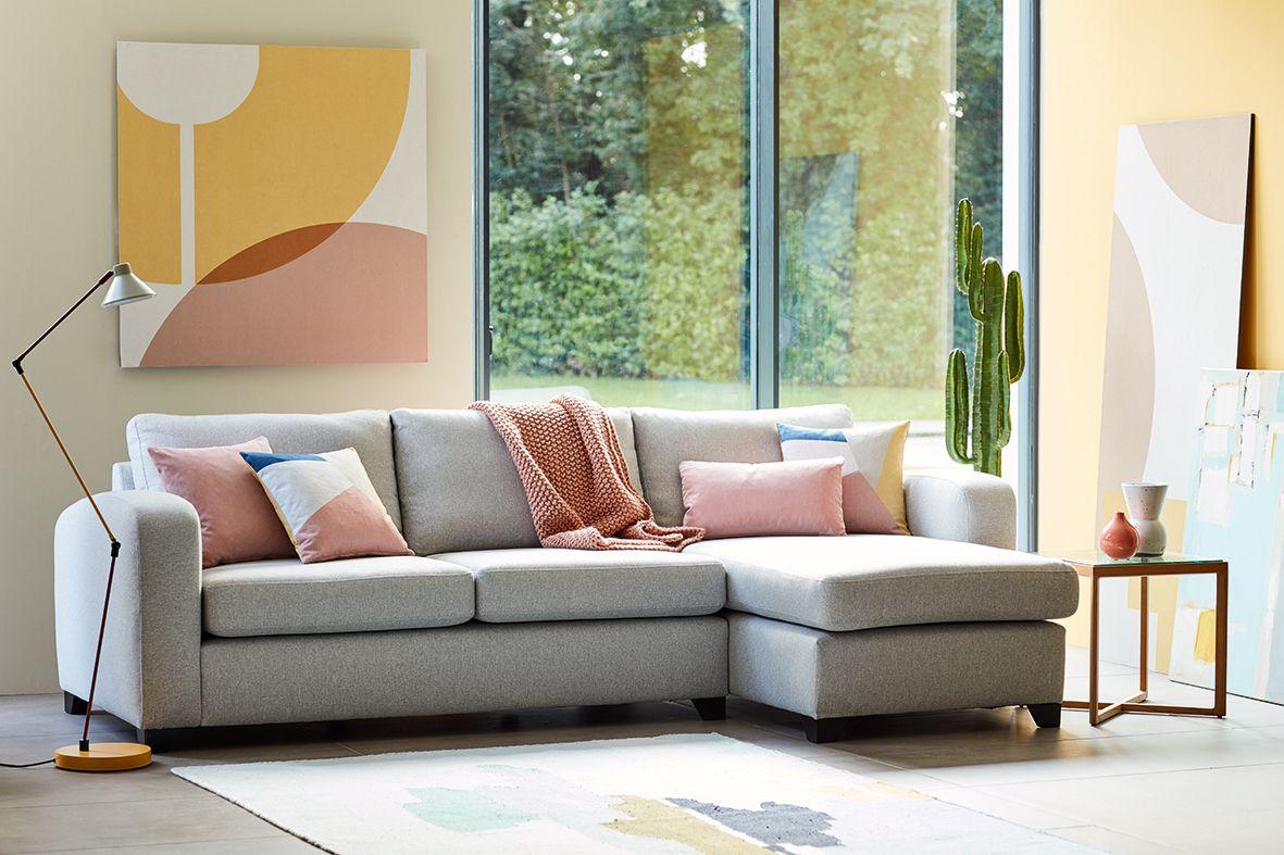 Dfs Fabric Sofa Layla Is A Modern Clic