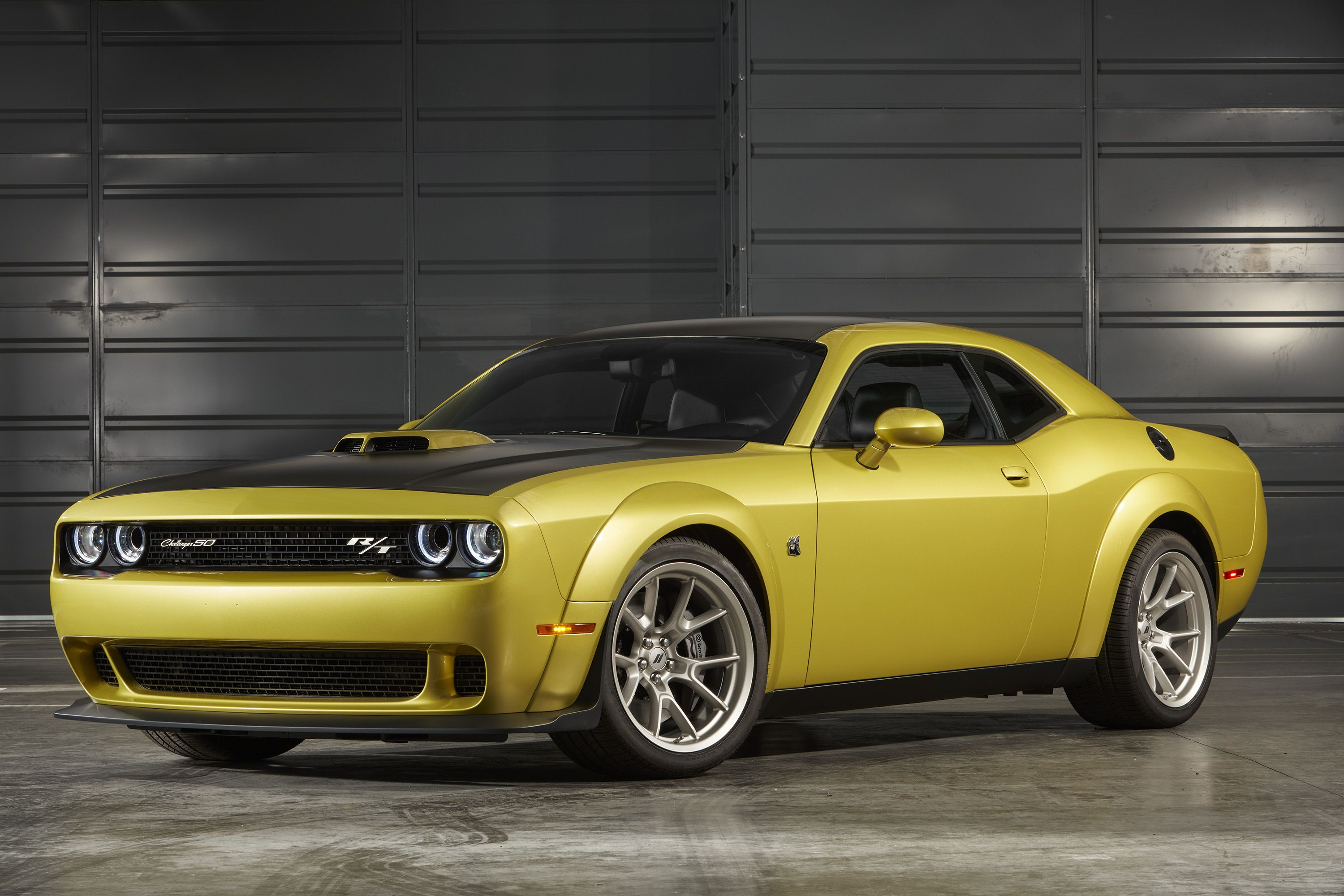 The 2020 Dodge Challenger 50th Anniversary Edition Is Extremely Gold