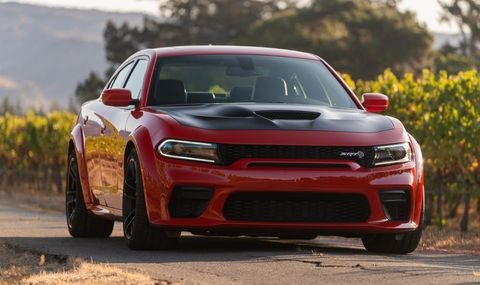 2020 Charger Hellcat Widebody First Drive Review Road Track