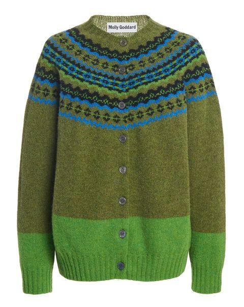 molly goddard maglione norvegese tendenza moda inverno 20202021