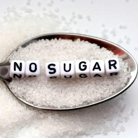 Diabetes concept suggesting no sugar consumption
