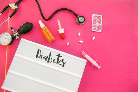 diabetes test health concept