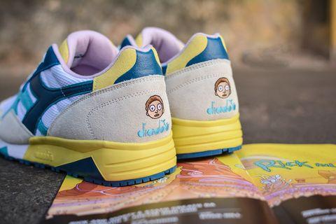 Le scarpe Diadora della capsule Rick and Morty hanno un segreto nascosto irresistibile